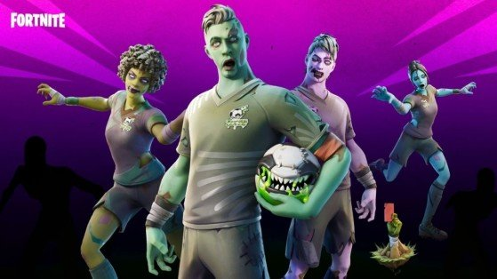 What is in the Fortnite Item Shop today? The Dead Ball set appears on October 12