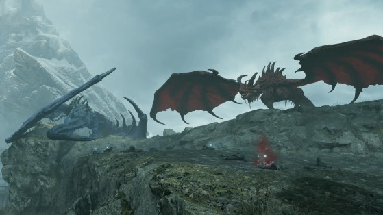 Red and Blue Dragons bosses - Demon's Souls
