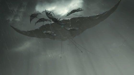 The Storm King boss - Demon's Souls