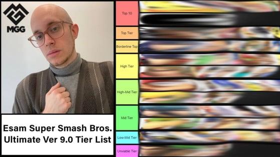 Esam Super Smash Bros. Ultimate Version 9.0.2 Tier List