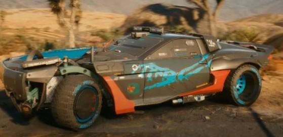 Quadra Type-66 Reaver - Cyberpunk 2077