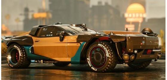 Quadra Type-66 Nomad - Cyberpunk 2077