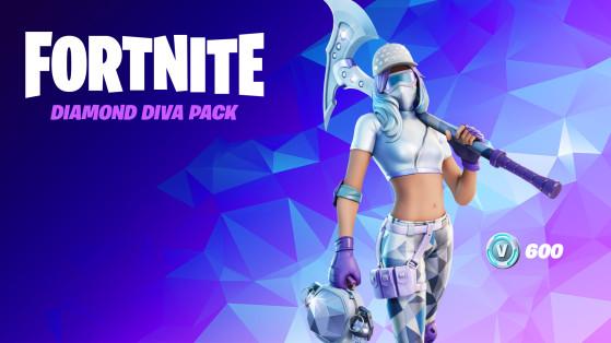 Fortnite unveils the Diamond Diva Starter Pack for Season 5