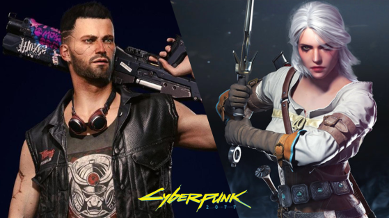 Cyberpunk 2077 Ciri easter egg from The Witcher 3