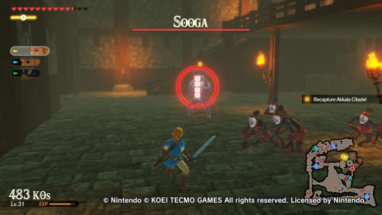 Sooga in the Citadel - Hyrule Warriors: Age of Calamity