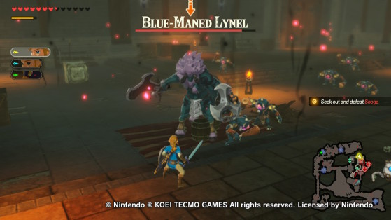 Blue-Maned Lynel - Hyrule Warriors: Age of Calamity