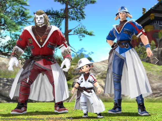 FFXIV NewEastern Lord Errant's Attire - Final Fantasy XIV
