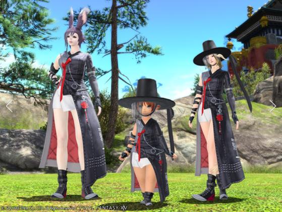 FFXIV Eastern Lady Errant's Attire - Final Fantasy XIV