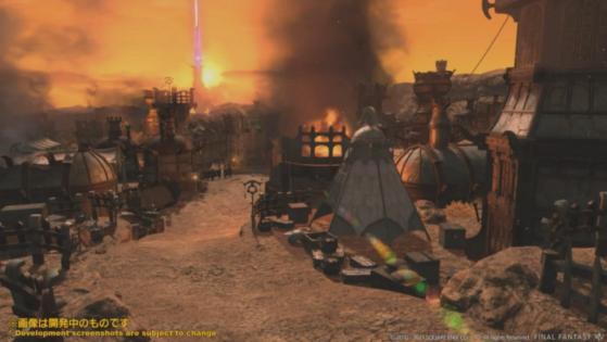 FFXIV 5.5 new dungeon - Final Fantasy XIV