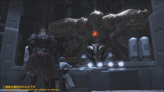 FFXIV 5.5 Diamond Weapon - Final Fantasy XIV
