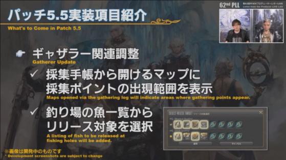 FFXIV 5.5 Gatherer update - Final Fantasy XIV