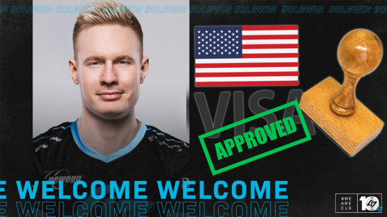 League of Legends: Broxah has finally received his visa to join CLG