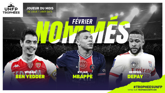 February's Ligue 1 nominees have been revealed