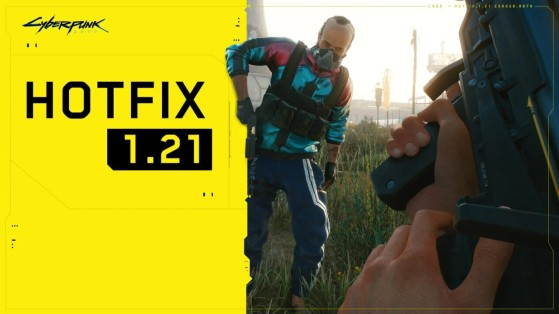 Cyberpunk 2077 hotfix 1.21 out now