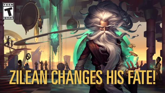 Zilean card previewed for Legends of Runeterra