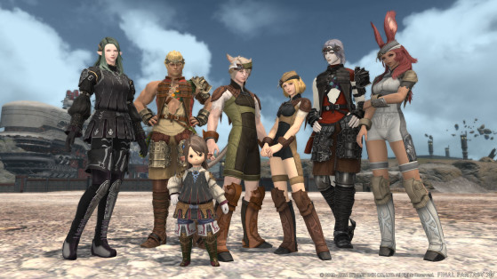 FFXIV 5.5 Zadnor Armor Preview - Final Fantasy XIV