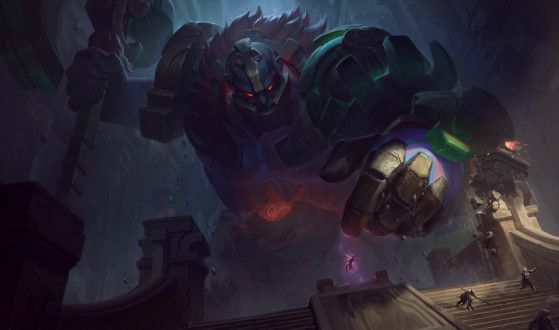 LoL: Bug turns Sion into a tower with legs