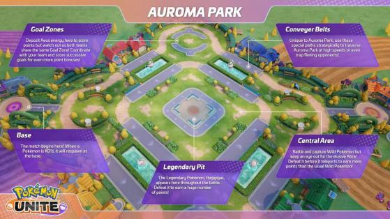 Auroma Park - Pokémon Unite
