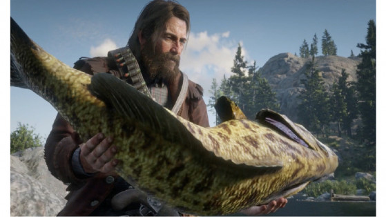 Guide Red Dead Redemption 2 : Legendary fish, fishing