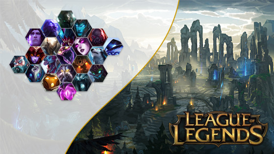 League of Legends, LoL — Champions without skins for more