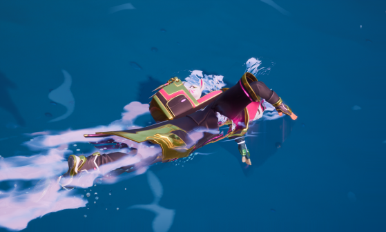 You can now jump and swim in Chapter 2 of Fortnite