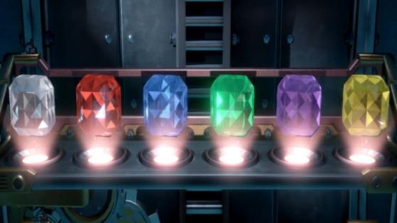 Luigi's Mansion 3 Guide: B1 Gem Locations, Basement