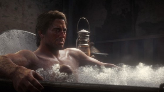 Washing, Red Dead Redemption 2: Hygiene, clothing and consequences