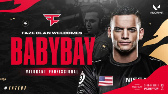 Former Overwatch pro players complete FaZe Clan's Valorant roster