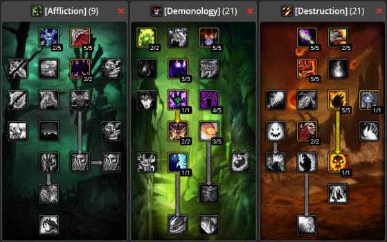 Wow Classic Demonology Warlock Guide Millenium