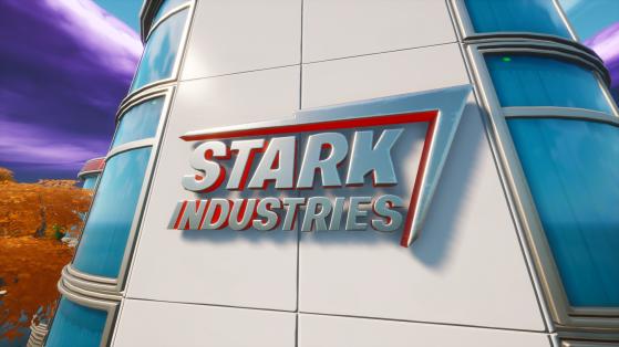 Fortnite: Stark Industries, New Landmark & POI