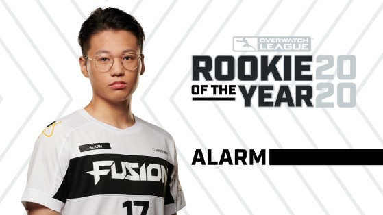 The Overwatch League 2020 Rookie of the Year is Alarm