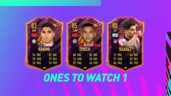 FUT 21: Ones to Watch Team 1