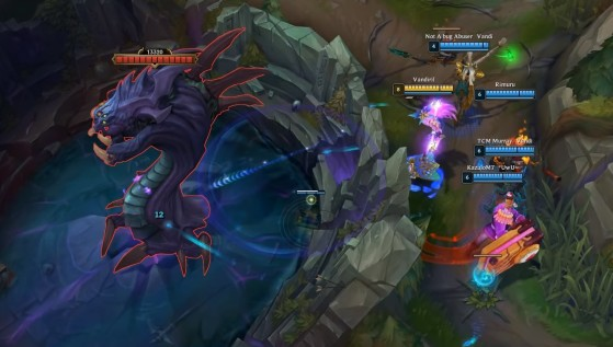 League of Legends' new champion Seraphine has an absurd attack range