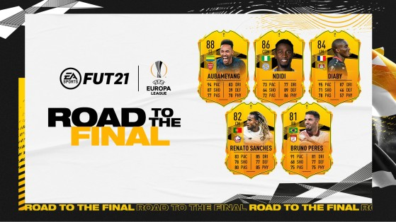 FUT 21: Road To The Final Europa League, First 5 Cards, Aubameang, Diaby, Renato Sanches