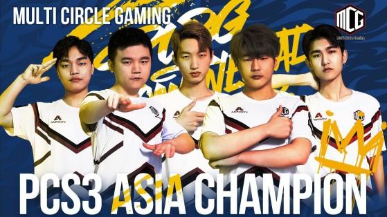 PUBG: Multi Circle Gaming claim PCS3 Asia title