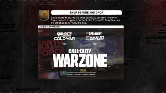Black Ops Cold War and Warzone Season 1: Store Bundles