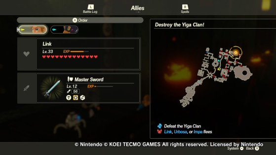 The Scout's location - Hyrule Warriors: Age of Calamity