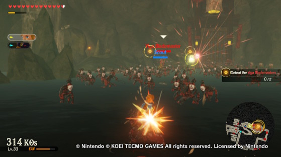 Taking care of the Yiga Blademasters - Hyrule Warriors: Age of Calamity