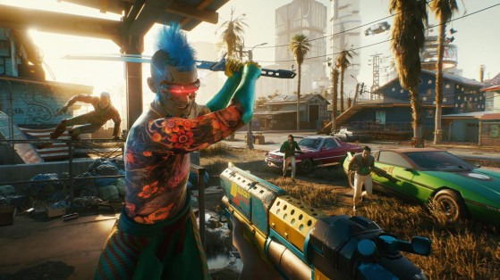 Cyberpunk 2077: Patch 1.2 details, including an overhaul of the police system