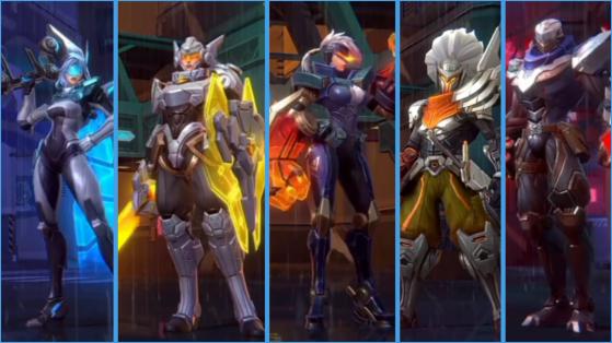 PROJECT: Ashe, Leona, Vi, Yasuo, Zed - Wild Rift