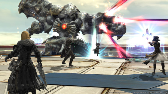 FFXIV The Cloud Deck — the Diamond Weapon Trial - Final Fantasy XIV