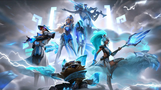 The DAMWON Gaming World Championship skins have arrived on the PBE
