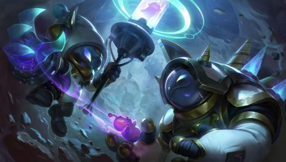 Veigar and Rammus splash art - League of Legends