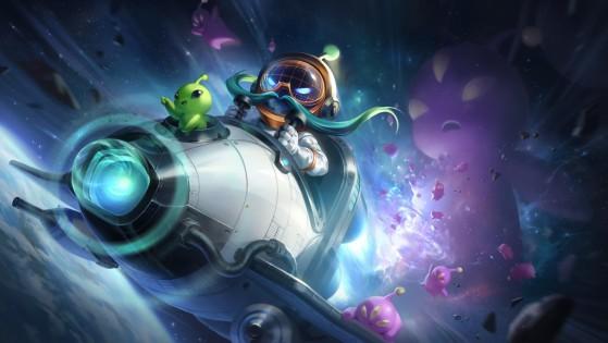 Corki splash art - League of Legends