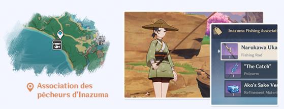 Inazuma Fishing Association - Genshin Impact