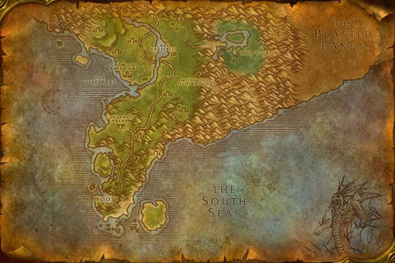 Felwood - World of Warcraft: Classic