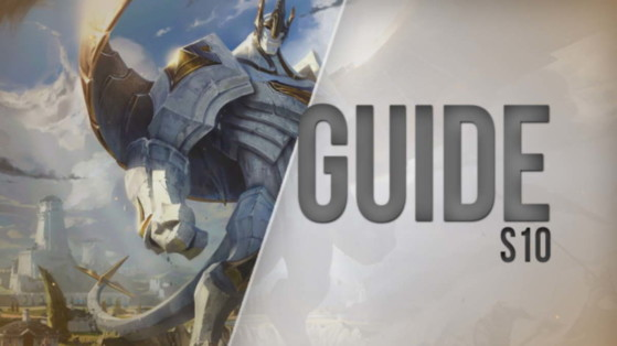 LoL Guide, Build for Galio, Mid, S10