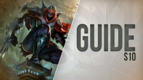 LoL Guide Zed, Mid, S10