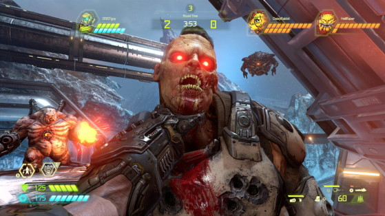 What, Something wrong with your throat? - DOOM Eternal