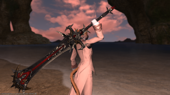 FFXIV 5.25 Relic Weapons Dark Knight - Final Fantasy XIV